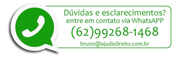 Entre em contato via Whats APP 62992681468
